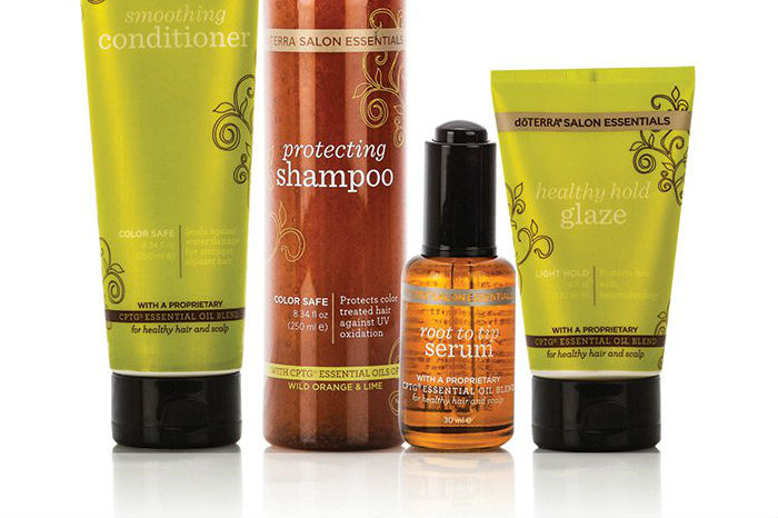 Doterra salon essentials hair care system